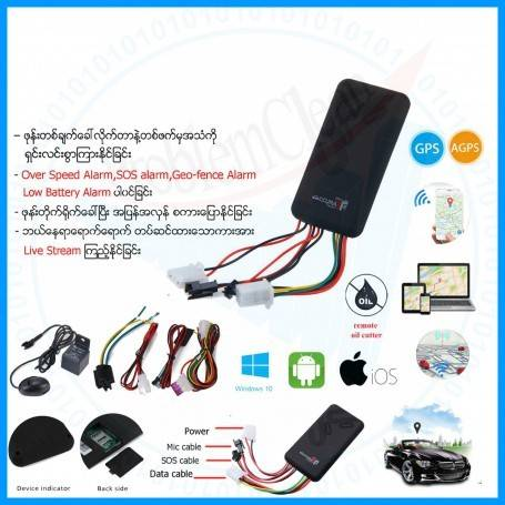GT06 GPS Tracker(ccurate)
