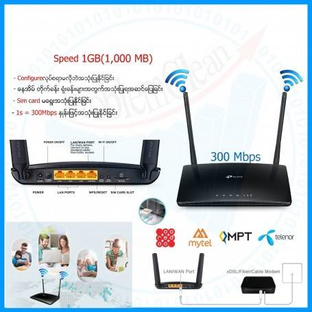 Tp Link 4G LTE Router