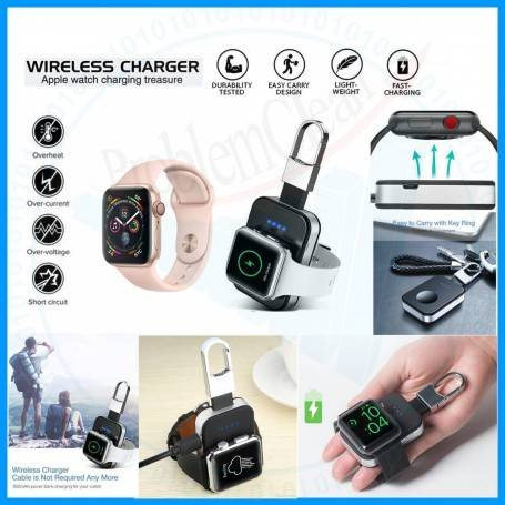 Portable Keychain Apple Watch Wireless Charger